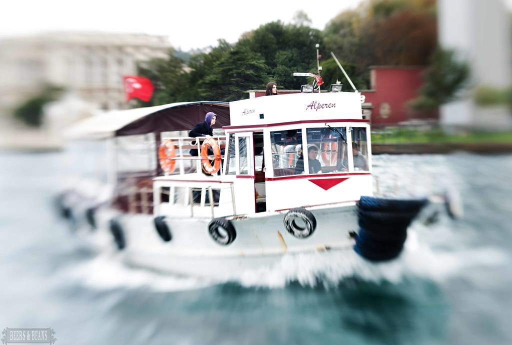 Bosphorous River Cruise in Istanbul, Turkey