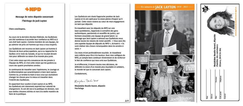 En mémoire de Jack Layton - Page 2