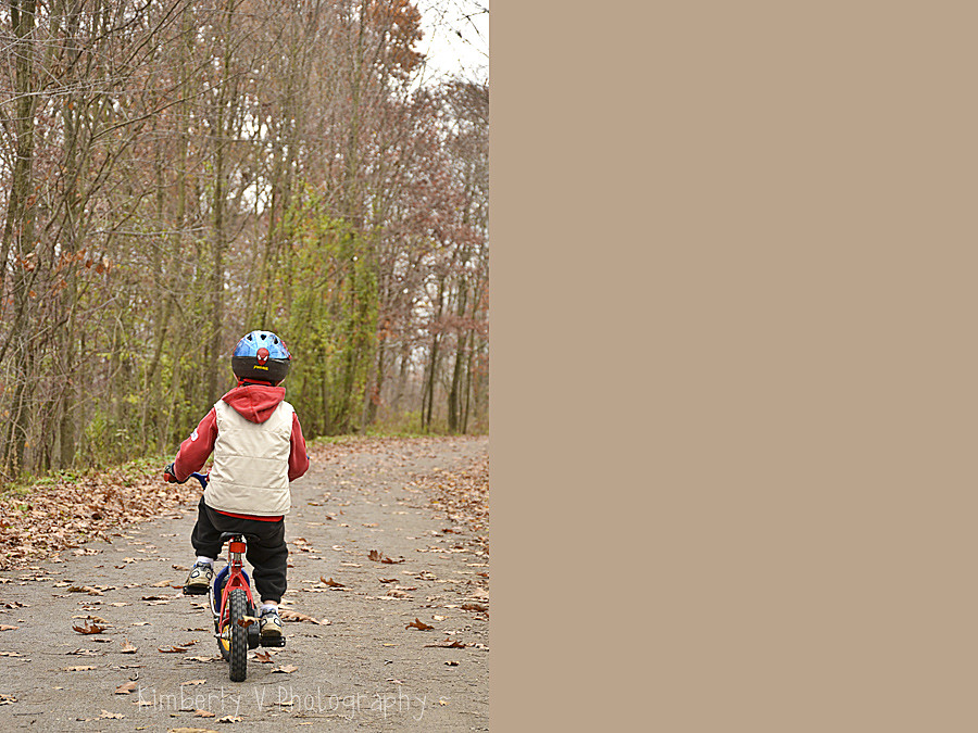 Alex biking