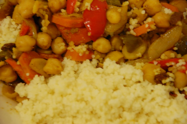 Chickpea and Couscous