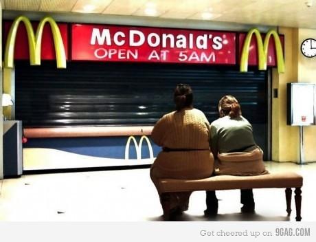 mcdonalds waiting