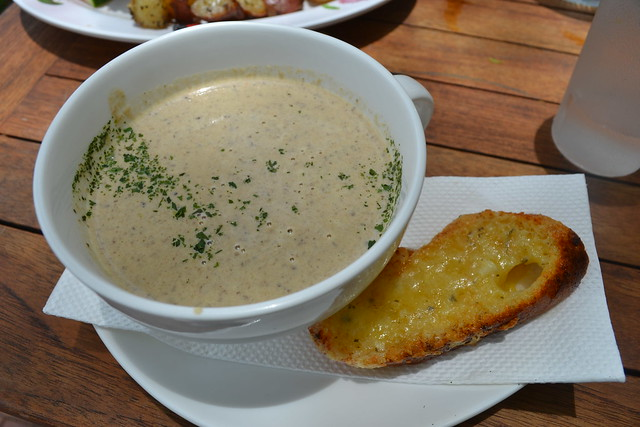 Mushroom Soup at Epicurious at Robertson Quay