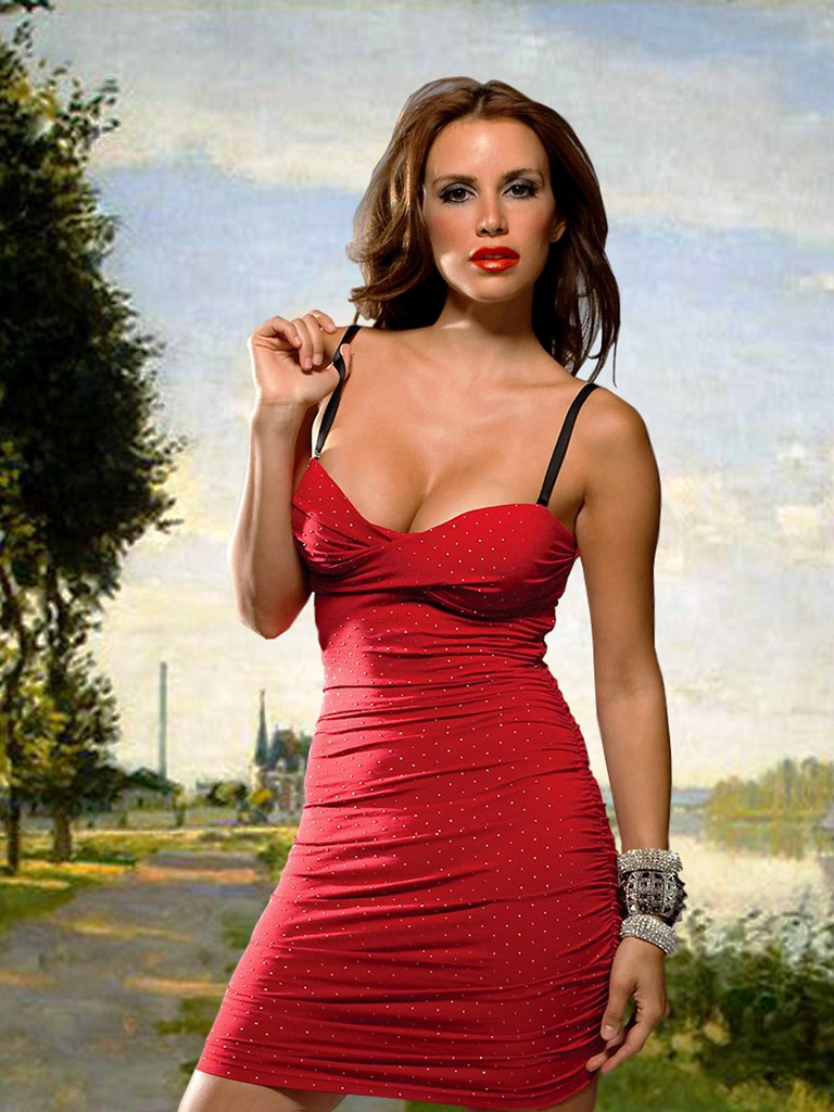 Beautiful Chilean woman