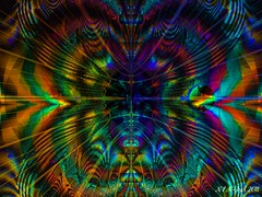 Peacock Dreams (newleaveschange) Tags: abstract bright fractal