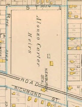 Detail, Plate 26, 1881 City Atlas of Cleveland, Ohio