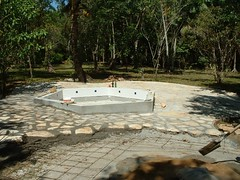 Pool Construction (Dis da fi we) Tags: puntagorda toledo belize hickateebelize hickateepuntagorda jungle rainforest forest wildlife culture cottages hickatee