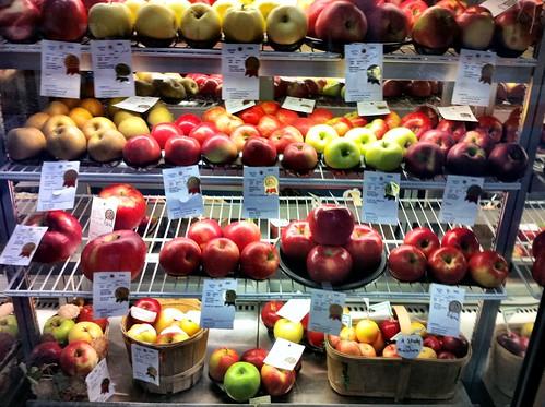 Prizewinning apples