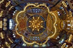 Starry Sky (Yavuz Alper) Tags: museum architecture mosque fisheye dome ottoman hagiasophia ayasofya kubbe osmanlı 537 byzantian ottomanstyle balıkgözü d7000
