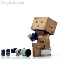 156/365: Dreaming Of The Perfect Photograph. (Randy Santa-Ana) Tags: camera toys photography danbo danboard 365daysofdanbo danbopose