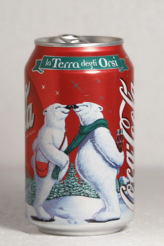 1999 Coca-Cola Italy Christmas Polar Bears 3 by roitberg