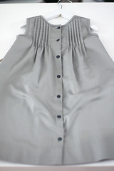 Cotton Dress with Buttons, size 98 (2/3) - only 1 avaliable