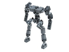 Recon Frame (Cam M.) Tags: lego frame instructions mecha mech recon hardsuit