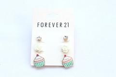 Brincos Forever 21 - Cupcake (Galeria do Vou Comprar) Tags: cute fofo brinco brincos vou comprar forever21 cupacake brinquinho foreverxxi voucomprar voucomprarloja