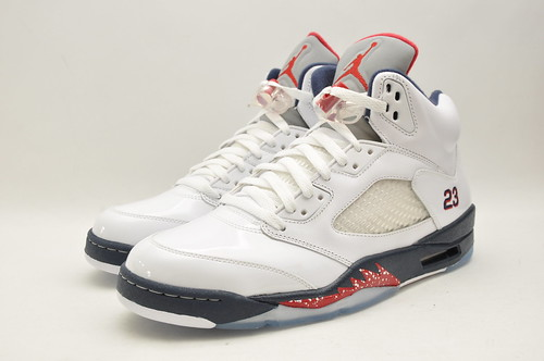 Jordan 5 Retro White/Blue/Red