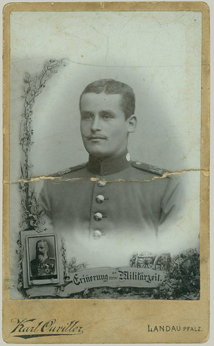 CDV Man in Uniform