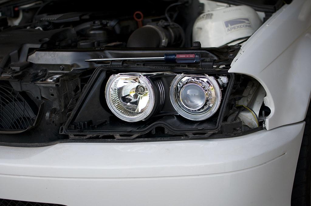 E46 FX-R retrofit + Projector fogs