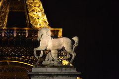 (judju75) Tags: paris france night nikon eiffeltower d3100 yahoo:yourpictures=sculpture yahoo:yourpictures=europeanmonuments