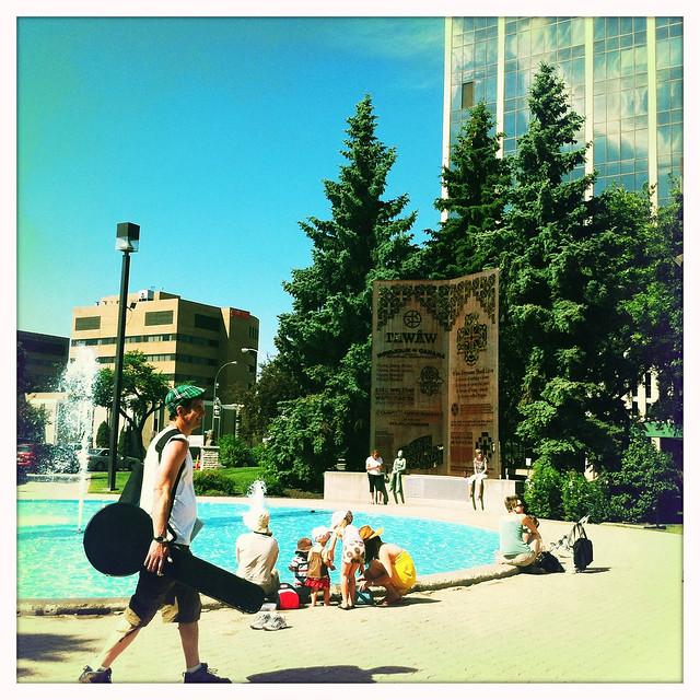 in front of Regina's city hall 2