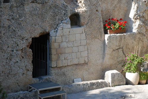 possible site of Jesus' tomb