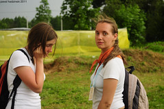 Budsla Fest (2011) | 3. Zosia & Alena (paval hadzinski) Tags: street city trip girls light portrait people woman male art church girl beauty female interesting nikon women catholic christ god basilica jesus places christian holy zosia priest belarus spiritual pavalhadzinski budsla
