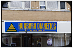 Hubbard Dianetics Foundation (swanksalot) Tags: signs chicago 50mm scientology lincoln graceland dianetics hubbard lronhubbard swanksalot sethanderson
