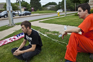 Anti-Torture Vigil - Week 55: The Flag on the Ground