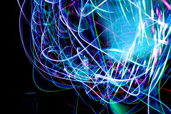 meow (WolfHaily) Tags: show light love led micro emotions liquid orbit