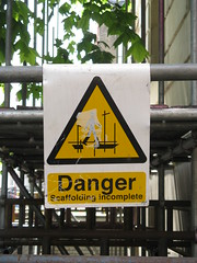 Danger: Haunted Scaffolding