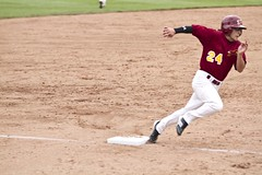 round.3rd (Paul L Dineen) Tags: 2011 foxes baseball sports fortcollins fortcollinsfoxes mcbl college triplecrown bandits triplecrownbandits action smnotchecked mcblcsl mcscblnov7a baseballnov17 believebaseball believe isdone city