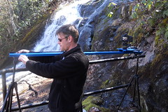 Dynamic Perception setup at Crabtree Falls (Star Mountain Media) Tags: motion point waterfall perception shoot control dynamic stage moco falls coolpix behind scenes zero crabtree manfrotto bts 460mg