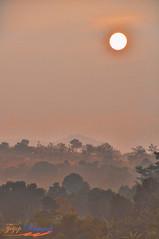 Misty Sun