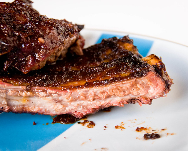 Cherry-Chipotle Ribs