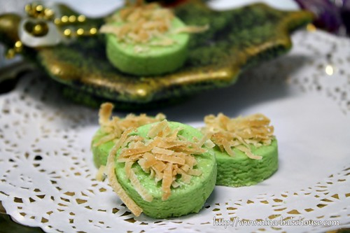 pandan hawaian coconut cookies
