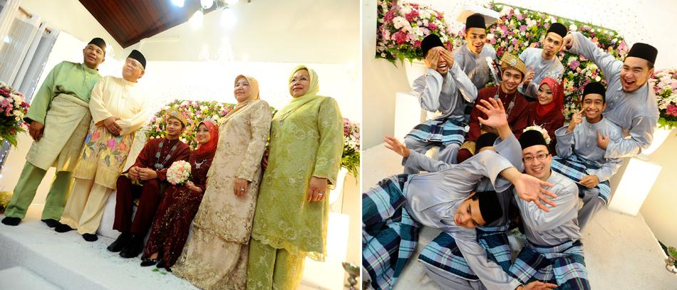 Nadia & Fahmi Nikah kolaj 10 s