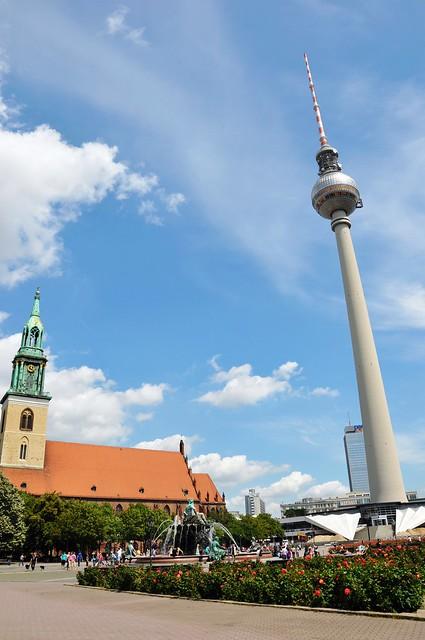 Alexanderplatz Berlin 亚历山大广场