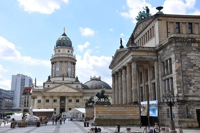 Gendarmenmarkt 宪兵广场 Berlin