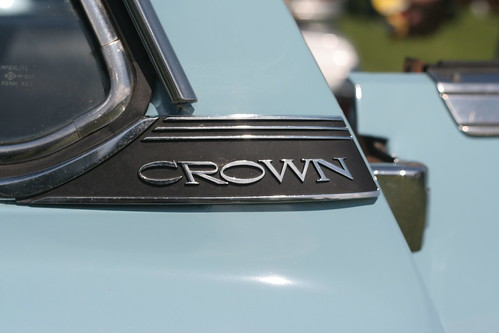 Toyota Crown MS56 emblem