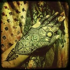 Moroccan Henna (Volcano Henna) Tags: blue art tattoo volcano design pattern natural skin body african lexington kentucky ky paste melissa organic henne henna mehendi temporary mehndi heena hinna mehandi banford