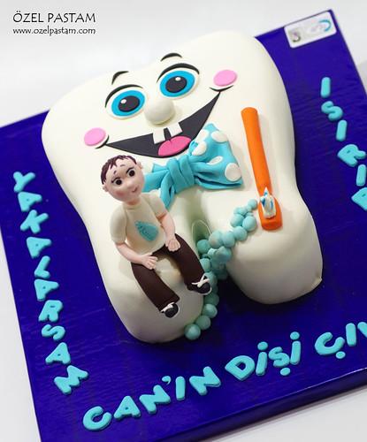 Can'ın Diş Buğdayı Pastası