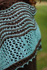Hecate shawl by Kirsten Kapur of Through the Loops - Photos by Kirsten Kapur