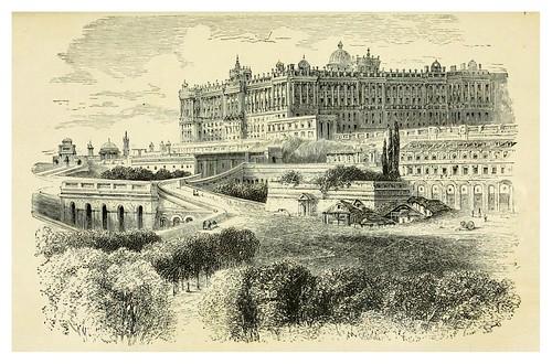 003-Palacio Real de Madrid-Spain-1881-Edmondo De Amicis-ilustrado por W. Vilhelmina Cady