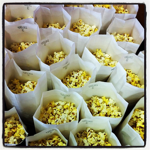 Remembered last min I'd said I'd help with popcorn for count day.