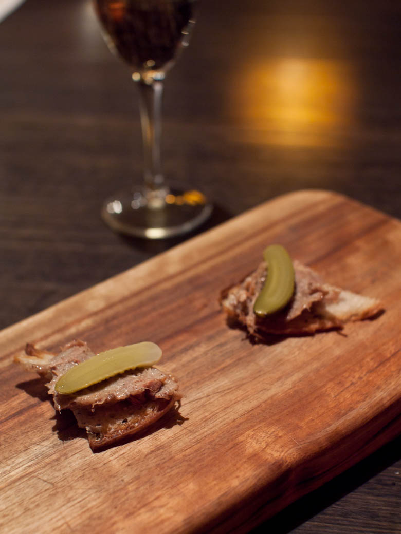 Match Bar & Grill - Duck rillettes canapes