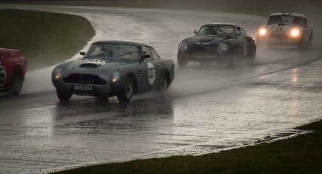 2011 Goodwood Revival: Aston Martin DB4s & AC Cobra