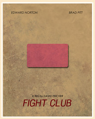 Fight Club (1999) (Jon Glanville) Tags: soap bradpitt fightclub tylerdurden chuckpalahniuk edwardnorton davidfincher rule1 minimalistfilmposter