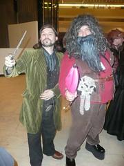 Sirius Black and Hagrid (BelleChere) Tags: atlanta costume geek cosplay harrypotter convention dragoncon hagrid siriusblack yuleball bellatrixlestrange