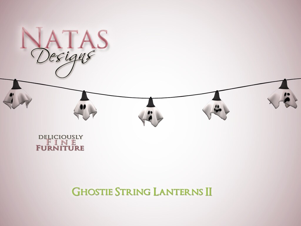 Ghostie String Lanterns II