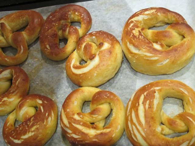 baked pretzels