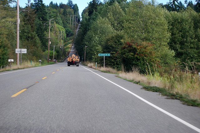 SR 160 near Long Lake