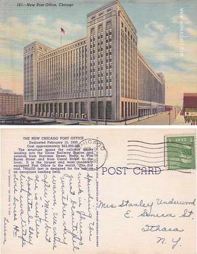New Post Office, Chicago